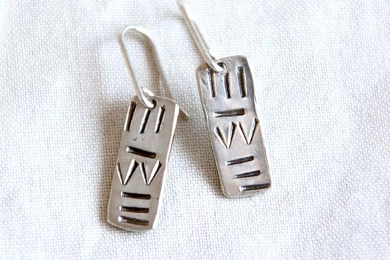 The Little Aztec Earrings