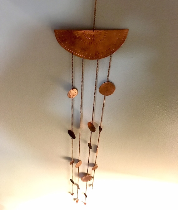 Copper mobile / wall hanging