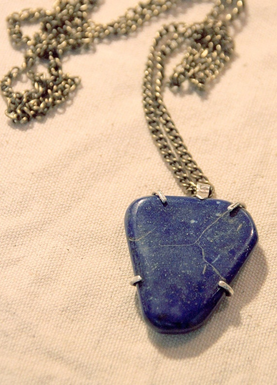Galaxy Lapis Necklace - HALF PRICE!