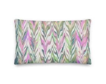 Pastel Chevron Rectangular Throw Pillow - 20x12