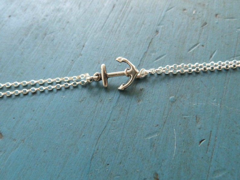 Silver Anchor Bracelet Cruise theme gift for her,nautical jewelry Navy Wife Bridesmaid Jewelry Bridesmaid Bracelet Beach Wedding
