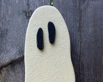 Halloween Decor Wood Glow in the Dark Ghost