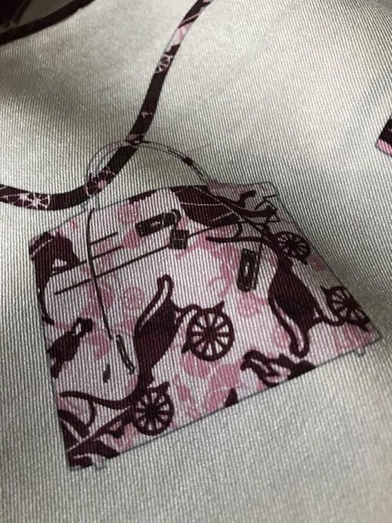 Vintage Hermès Silk Scarf - image 2