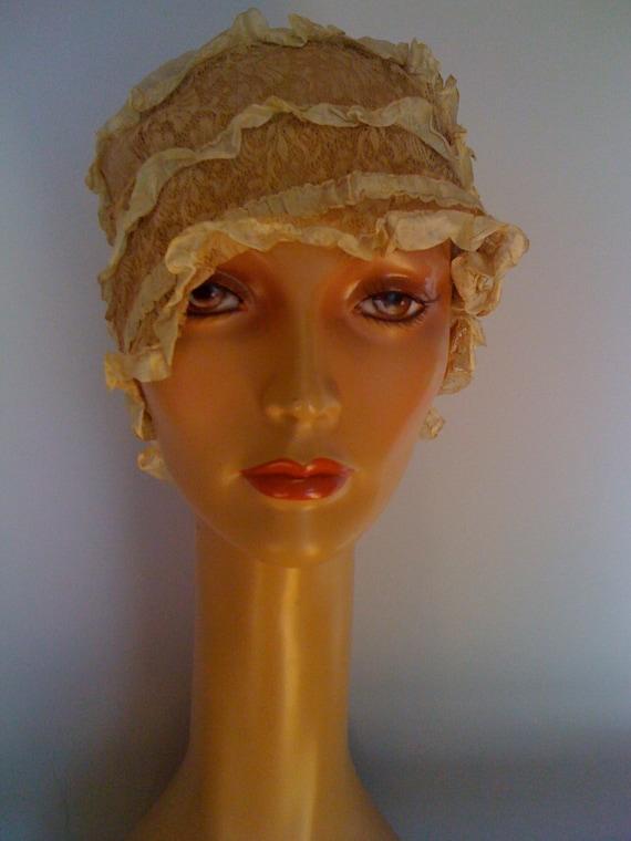 Silk Antique Sleeping Cap
