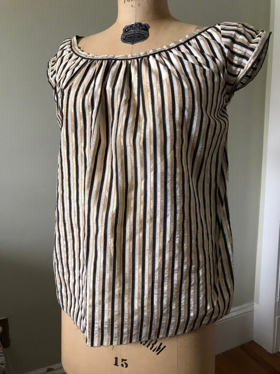Vintage Maternity Top / 1950's Maternity Top / 195