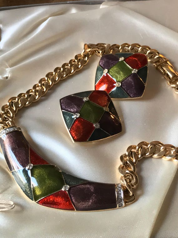 Guy Laroche / Vintage Designer Costume Jewelry / G
