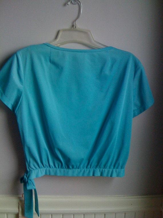 Women's Vintage  Clothing /1960's Turquoise 1960'… - image 8