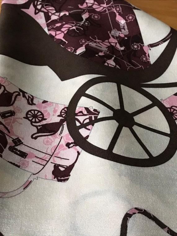 Vintage Hermès Silk Scarf - image 7