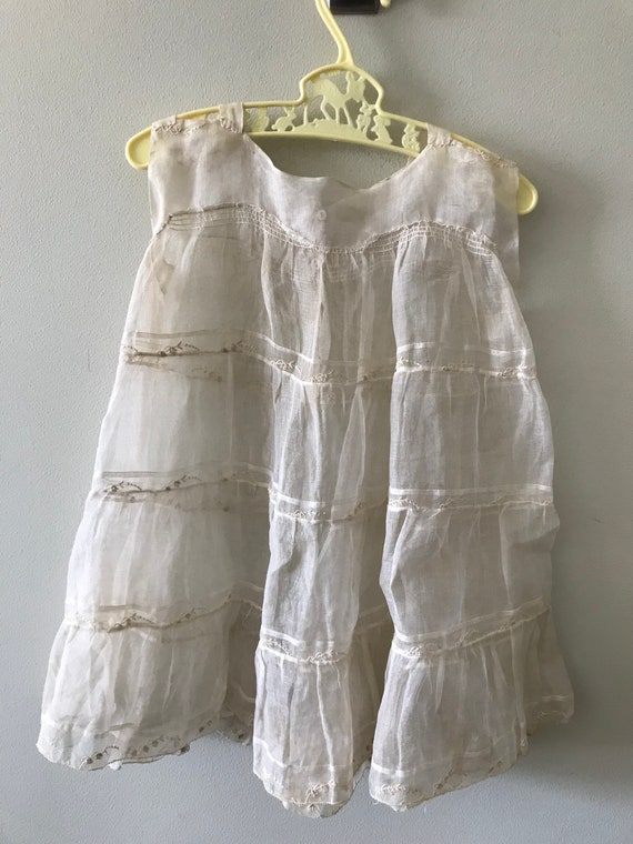 Children's Antique Clothing / Vintage Dress / Fema
