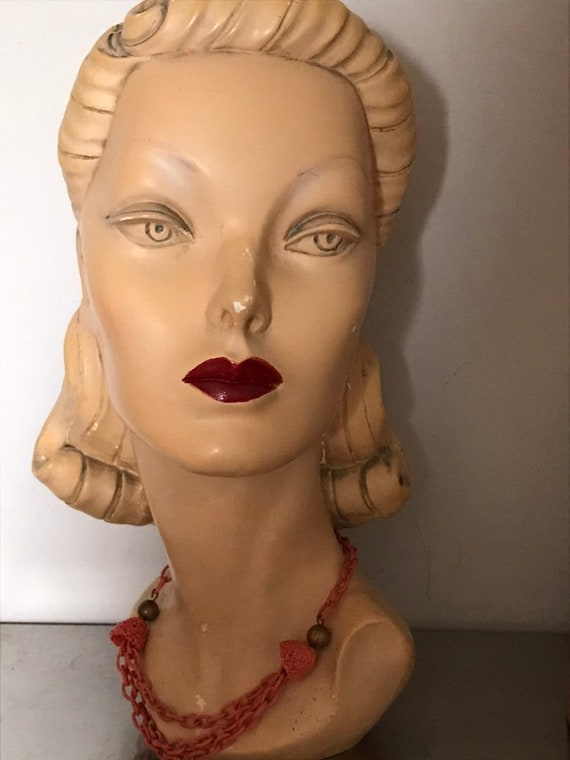 Vintage Jewelry/ 1940's Celluloid Costume Jewelry/