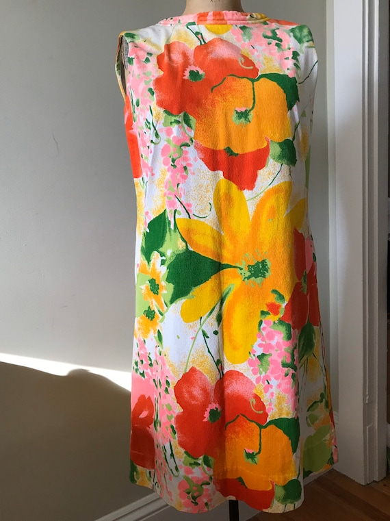 Women's Vintage / 1960's Flower Power Dress / 'Ali