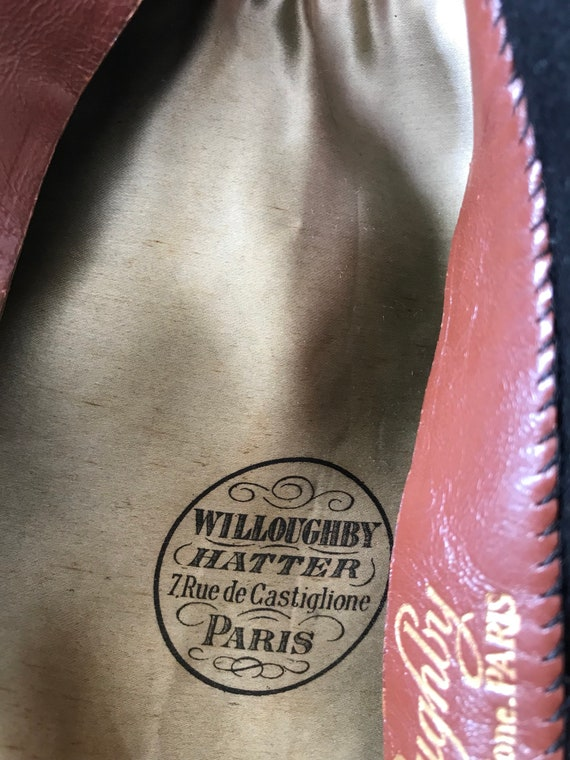 Authentic French Beret /Willoughby Hatter 7 Rue d… - image 5
