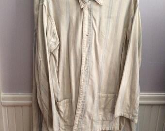 Men's Vintage / Old Man PJ's /Men's Vintage Pajamas / Theater Prop/ Costume / Movie Costume Shop / Vintage 1900's PJ's