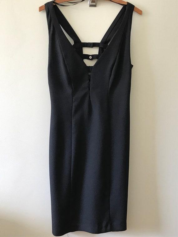 "Women's Vintage 1980's "" Little Black Dress"" / 80'"