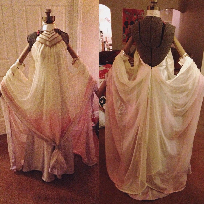 Padme Amidala Lake Dress Star Wars Cosplay   Etsy