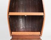 1/2 Barrel Bar / Storage Table