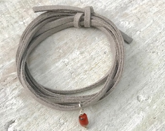 Red Sea Coral Eco ZEN Wrap® -- Positive Energy Jewelry -- Clarity by the Sea Collection by ZEN Jewelry