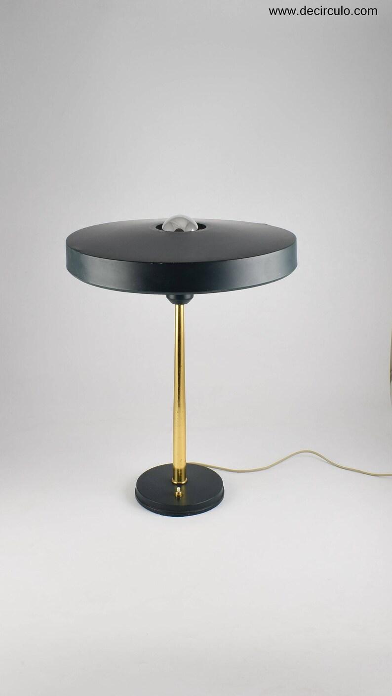 Philips mid century modern kallf timor table lamp great image 0