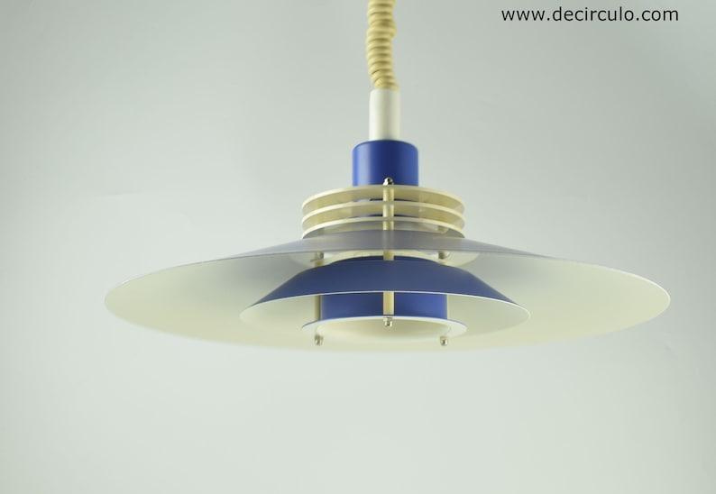 Lyfa danish blue pendant light scandivian hanging light lamp image 0