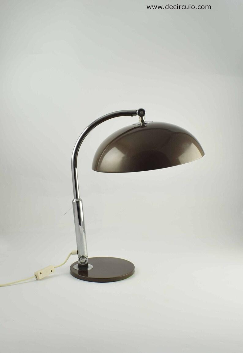 Hala Desk lamp Model 144 designed Busquet famous brown and image 0