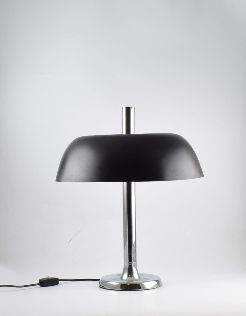 Large Desk Table lamp Hillebrand Germany 1970s Tischleuchte image 0