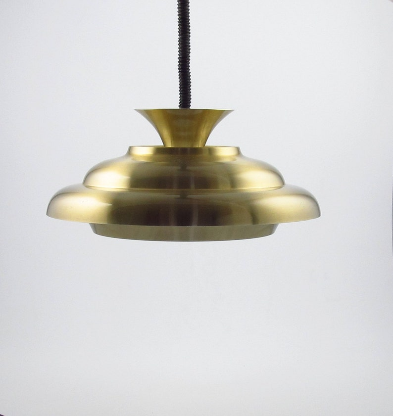 Dijkstra pendant lamp from the 1970s made in Holland typical image 0