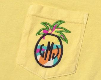 Lilly Monogram Shirt - Lilly Monogrammed Shirt - Lilly Critter Monogram Shirt - Monogram Comfort Colors Shirt - Monogram Short Sleeve Shirt