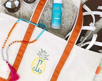 Medium Monogram Boat Tote - Monogrammed Boat Tote - Monogram Tote Bag - Monogrammed Tote Bag - Bridesmaids Gift - Beach Tote - Mother's Day