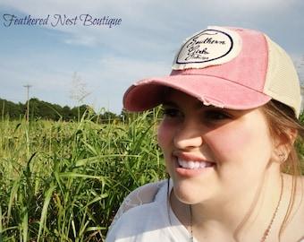 Trucker Hat - Southern Girls Hat - Southern Girls Cap - Southern Girls Collection Trucker Hat - Southern Girls Collection brand