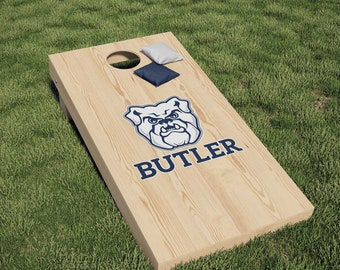 R and R Imports Butler University Bulldogs Wood Sign with Frame