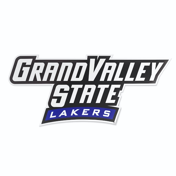 Amazon Com Grand Valley State University Gvsu Lakers Ncaa Sticker Vinyl Decal Laptop Water Bottle Car Scrapbook Type 1 1 Sheet Arts Crafts Sewing