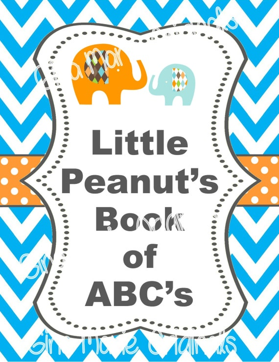 Actividad libro única actividad para Baby Shower bebé | Etsy