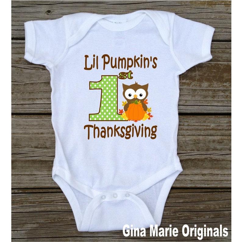 213fe7744 Gracias 1 de Lil calabaza bebé camiseta Body Boy Lil calabaza