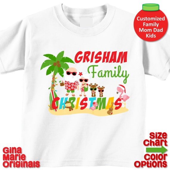 Personalized Boys or Girls TROPICAL FISH Ocean Beach Name or Birthday T Shirt