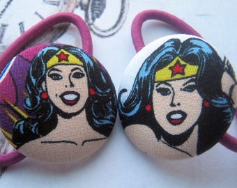 DC Comics/Diana Prince/ Wonder Woman/Amazon/Nerd/Gal Gadot/Lynda Carter/38 mm/ Hair Elastic Hair Ties-Gift