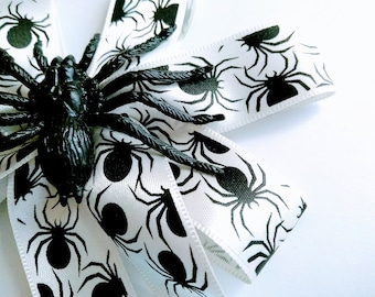 Spider Barrette, Gothic,Hair Bow ,Barrette ,Hair Clip Hair Accessory, Hair Jewelry -Gift