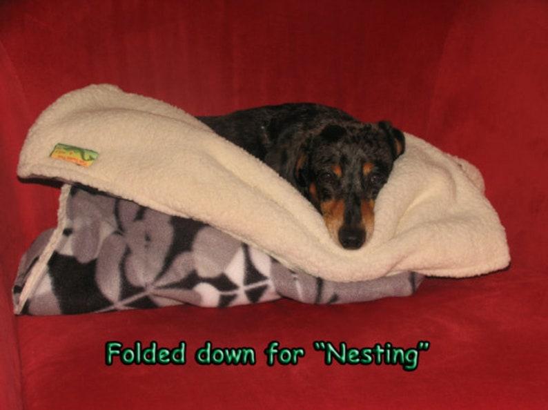 Cat Cave Dog Sleep Sack Dog Burrow Sack Dog Sleep Bag Cat Bed Dog Burrow Bag Dog Sleeping Bag Dog Bed Cat Blanket Dog Blanket