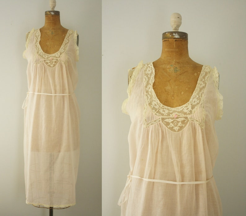 3e3adbcc52 1910s nightgown vintage edwardian lingerie
