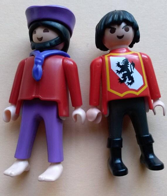 playmobil figur blaue jacke knöpfe uniform
