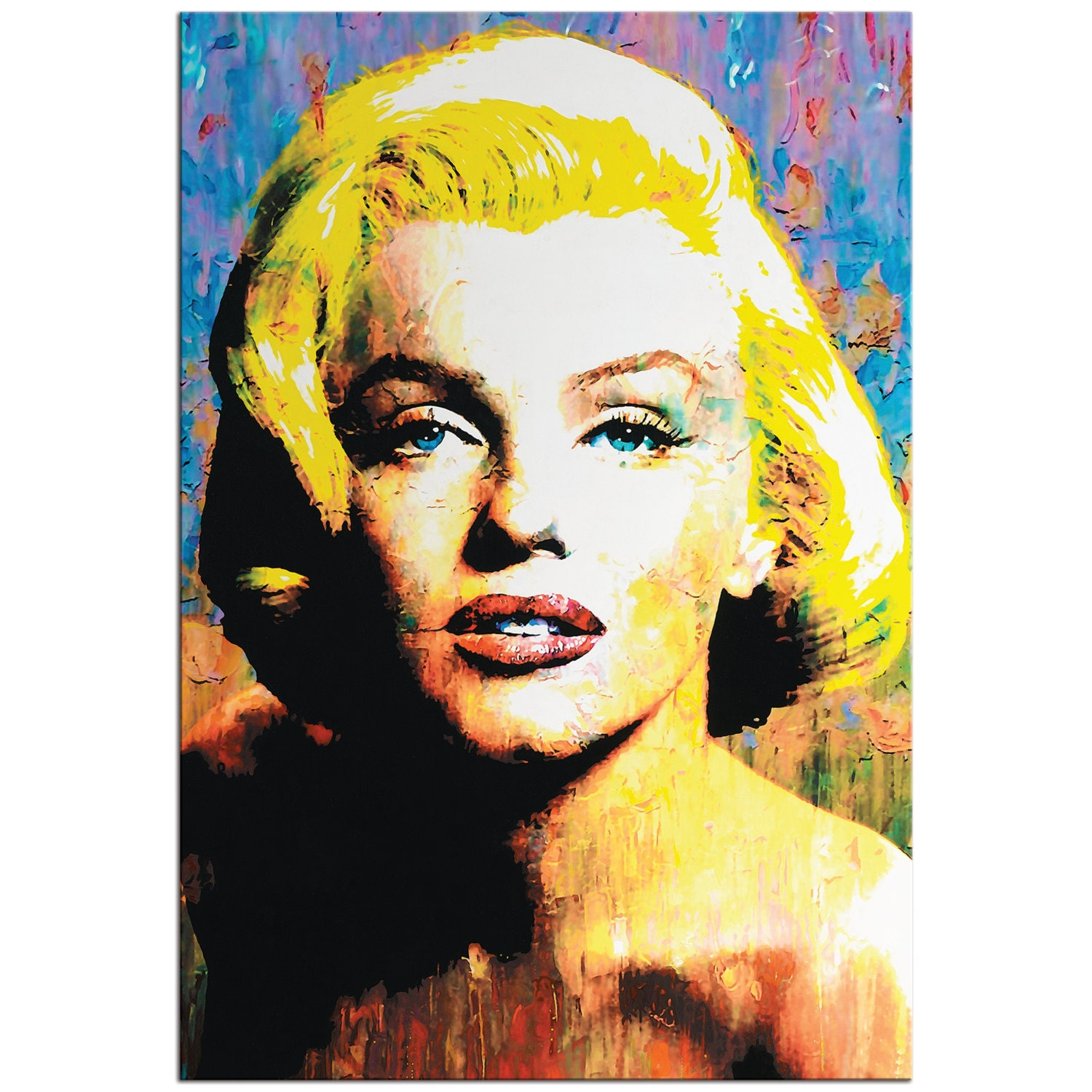 Pop Art \'Marilyn Monroe\' Pop Culture Icon Painting | Etsy