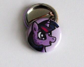 Twilight Sparkle 1 inch Button