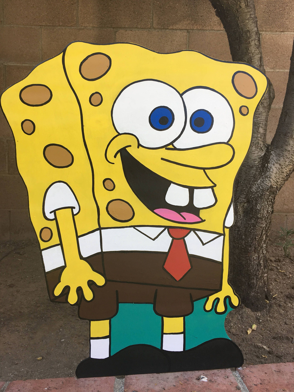 24 Sponge Bob Square Pants Decoration Gary Birthday | Etsy