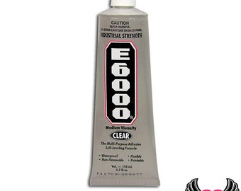 E-6000 Jewelry and Craft Adhesive 3.7 oz Large Tube E6000 Professional Craft Glue, Made in the USA