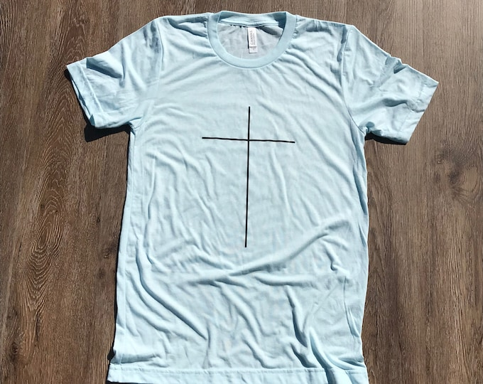 Simple Cross T-shirt