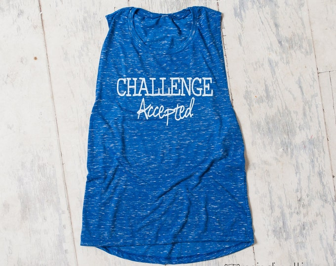 Challenge Accepted! workout shirt