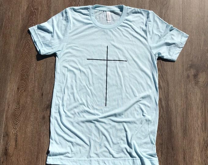 Simple Cross T-shirt