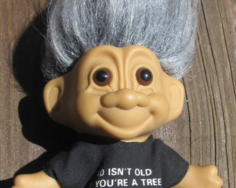 """Lucky Troll Doll 1/"""" lot of 5 DIY project NEW"""