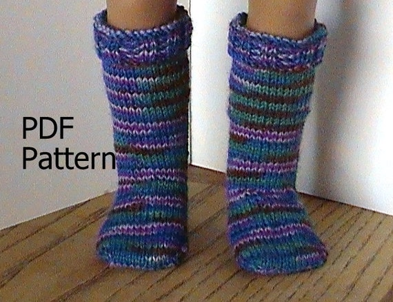 026 Knit Knee High Socks From The Toe Up Pattern For American Etsy