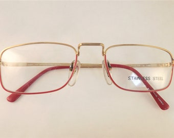aadd508ace3d Red eyeglasses