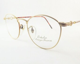 69f1e086ea2b Gold Steampunk Eyeglasses